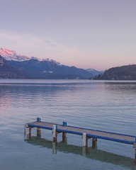 (Anaëlle T) Tags: france annecy montagne mountains lac lake sunset paysage landscape savoie