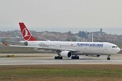 """Aydın"" Turkish Airlines TC-JOL Airbus A330-303 cn/1644 @ LTBA / IST 25-11-2018 (Nabil Molinari Photography) Tags: aydın turkish airlines tcjol airbus a330303 cn1644 ltba ist 25112018"