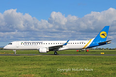 EMBRAER ERJ195LR EI-GCA (UR-EMF) UKRAINE INTERNATIONAL (shanairpic) Tags: jetairliner passengerjet erj195 embraer190 embraer195 shannon ukraineinternational iac gecas eigca uremf
