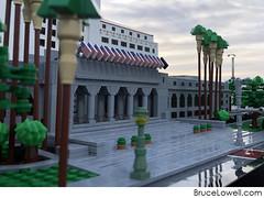 LEGO Los Angeles City Hall (bruceywan) Tags: lego brucelowellcom bruce lowell bruceywan losangeles la los angeles cityhall city hall artdeco moc 1200