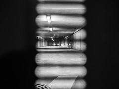 Thriller (franleru1) Tags: aixenprovence france francoiselerusse night nuit omd oympus voiture blackandwhite graphic monochrome noiretblanc parking photoderue streetphotography urban