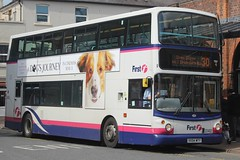 First Midland Red Dennis Trident 2/Alexander ALX400 33402 (VX54 MTY) (john-s-91) Tags: first firstmidlandred dennistrident2 alexanderalx400 33402 vx54mty worcester worcesterroute30 adogspurpose