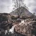 Buachaille Etive Mor Falls