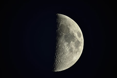 moon 11.5.19 (covertsnapper1) Tags: nikon d3400 telescope moon celestron evolution 925 lunar