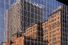Rochester Reflections (dr_marvel) Tags: reflections glass offices building rochester ny newyork themetropolitan brick