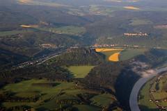Heimaterfahrung (michaelschneider17) Tags: deutschland sachsen schönheit elbsandsteingebirge heimat kultur berge ballonfahrt