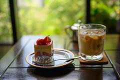 coffee and cake (Hideki-I) Tags: nishimurascoffee coffee cake food drink nikon z7 50mm bokeh kobe japan