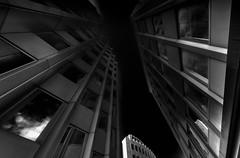 o.t. (Tom Putzke) Tags: architektur gerlingquartier städte köln cladding fassade fassaden schwarz black monochrom monochrome farblos nacht night