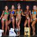 Women's Bikini - Class B 4th Walsh 2nd Martsch 1st Higson 3rd Govenlock 5th Huhn