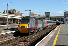 43378 43301 Exeter St Davids (CD Sansome) Tags: exeter st davids station train trains hst high speed 43 axc arriva cross country crosscountry 43378 43301