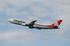 LX-VCE Boeing 747-8F - Cargolux (Ray's Photo Collection) Tags: prestwick boeing 747 lxvce cargolux 7478f south ayrshire scotland aviation airport aircraft plane airliner
