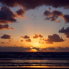 SeaCloudScape (m_laRs_k) Tags: zandvoort holland clouds beach landscape vivid sea europe travel vacation sunset sun