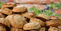 Empanadas (Ronnie Gaye) Tags: empanadas pastries pies food market