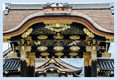 2ème jour / 2nd day - Porte d'entrée du château Nijo / Gateway to Nijo Castle- Kyoto (christian_lemale) Tags: château castle nijo nijojo kyoto japon japan 二条城京都日本 nikon d7100