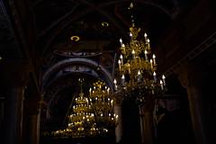Church (ljubistsees) Tags: church cross baptising christening gorgeus big light chandelier
