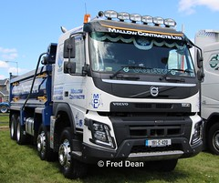 Mallow Contracts Ltd Volvo FMX (191C420). (Fred Dean Jnr) Tags: waterfordtruckmotorshow waterford tramoreracecourse tramore truck lorry may2019 tippertruck volvo mallowcontractsltd fmx 420 tipper 191c420