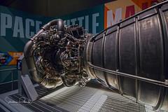 Atlantis Shuttle Engine (Stephen J Pollard (Loud Music Lover of Nature)) Tags: nasa spaceshuttle atlantis kennedyspacecenter engine rocketengine transbordadorespacial