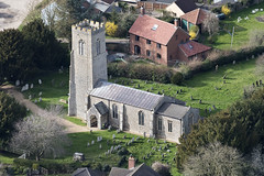 St Mary Magdalene church in Mulbarton - Norfolk aerial (John D Fielding) Tags: multbarton church stmarymagdalene above aerial nikon d810 hires highresolution hirez highdefinition hidef britainfromtheair britainfromabove skyview aerialimage aerialphotography aerialimagesuk aerialview drone viewfromplane aerialengland britain johnfieldingaerialimages fullformat johnfieldingaerialimage johnfielding fromtheair fromthesky flyingover fullframe uk
