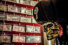 It all works out (Melissa Maples) Tags: batman turkey türkiye asia 土耳其 apple iphone iphonex cameraphone spring artgallery café ahmetçelik sultan paşa skeleton displaycase display international banknotes money