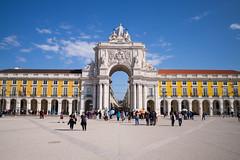 Lisbon (romanboed) Tags: leica m 240 summicron 28 europe portugal lisbon city cityscape old town urban lisboa lisabon 里斯本 리스본 リスボン лиссабон لشبونة praca comercio street square arco da rua augusta