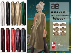 Epona Fatpack (sachi_vixen) Tags: epona cloak secondlife avatar ae adamneve sachi vixen rp roleplay got icefire themed cosplay enchantment theironthrone