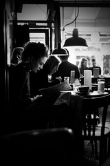 One cup of coffee (Remuz59Photography) Tags: streetphotography streetphoto amsterdam straatfoto barshots fujilove