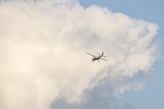 Cessna and Cloud (stevedewey2000) Tags: salisburyplain wiltshire sony70400g aircraft airplane plane aeroplane cessna grandcaravan netheravon cloudscape skyscape clouds spta sptaeast 32