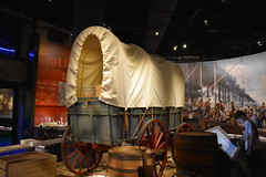 COVERED WAGON (SneakinDeacon) Tags: gatewayarch visitorscenter arch museum coveredwagon