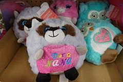 Walmart, Mother's Day stuff 5-6-19 05 (anothertom) Tags: coralvilleiowa walmart store shopping mothersday plushies plushtoys aisle cute raccon bestnana 2019 sonyrx100v