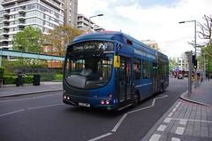 IMGP9390 (Steve Guess) Tags: bermondsey london england gb uk bus southwark wright hydrogen routerv1 aoa advert livery foresight lj13jwp tooleystreet