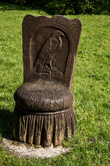 2019 - 05 - 11 - EOS 600D - Carved seats - Nant Mill Visitor Centre - Wrexham - 003 (s wainwright) Tags: 2019 may nantmill nantmillwoods