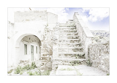 B5D_0621hb Facing the Ascent (foxxyg2) Tags: hk highkey art stairs marble building architecture derelict steps archway topazstudio topazsoftware topaz naxos cyclades greece greekislands islandhopping islandlife