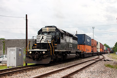 Norfolk Southern's Port Job (TolgaEastCoast) Tags: ns norfolk southern carolina junction virginia train intermodal land bridge international containers cofc double stacks