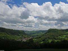 Vue sur Salins les Bains - Jura (francky25) Tags: vue sur salins les bains jura franchecomté printemps nuages