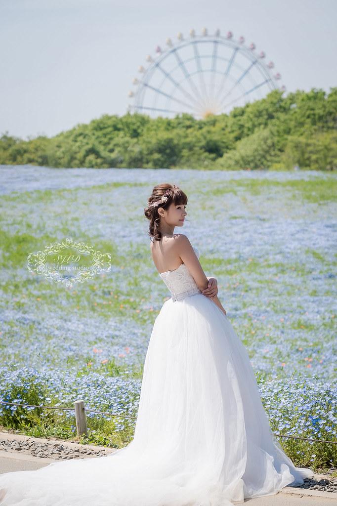 日本海外婚紗,茨城國營日立海濱公園拍婚紗,茨城婚紗,日本推薦景點,視覺流感攝影