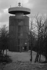 Boldog Özséb Observation Tower (lumpy79) Tags: boldog özséb observation tower praktica mtl5 helios44m 258 ilford hp5 400 1600