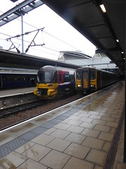 153 Vs 333 Leeds.   May 2019 (dave_attrill) Tags: class333 sprinter dmu emu diesel electric stopping train northern leeds railway station westyorkshire yorkshire class153
