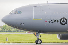 15002 Airbus CC-150 Polaris Royal Canadian Airforce Glasgow airport EGPF 08.05-19 (rjonsen) Tags: plane airplane aircraft aviation military transport airside taxying a310