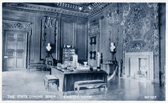 Chatsworth - The State Dining Room (pepandtim) Tags: postcard old early nostalgia nostalgic chatsworth state dining room bamforth publishers holmfirth new york undivided back 77cha76