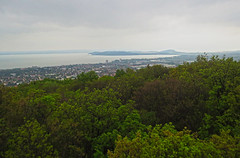 Still a rainy view (aniko e) Tags: view rain hungary balatonfüred balaton balatonfelvidékinemzetipark bfnp balatonuplandsnationalpark lake outdoors forest hill lookout hiking