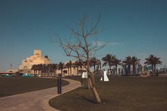 Museum of Islamic Art (Ziad Hunesh) Tags: zhunesh canon museum islamic art qatar doha photography sea lights arabian gulf outdoor water sky 7dmarkii clouds