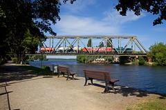 Railsystems RP 294 615 + trein 88920 Trebbin - Wustermark Rbf  - Caputh (Rene_Potsdam) Tags: caputh brandenburg deutschland br294 railsystems europe europa treinen trains trenes züge railroad