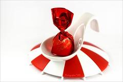 Spoonful of seduction (ruthehrhardt) Tags: macromondays spoonful macro redandwhite sweet sigma indoor closeup