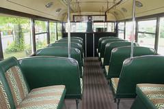 Trolleybus Interior: Maidstone Corporation: 52 LCD52 BUT/Weymann (emdjt42) Tags: suffolk eastangliatransportmuseum carltoncolville lcd52 52 maidstonecorporation trolleybus interior but weymann