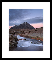 Predawn (marschp) Tags: buachailleetivemor glen glencoe highlands moor mountain rannoch river scotland stream winter scottishhighlands predawn softlight