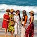 Chinese girls on Nai Harn beach. Selfie XOKA8127bs2
