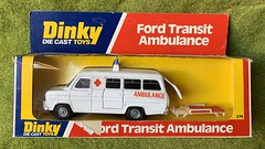 Dinky Toys - Number 274 - Ford Transit Ambulance - Miniature Diecast Metal Scale Model Emergency Services Vehicle. (firehouse.ie) Tags: fourgon transitmk2 ambulanza ambulanz ambulansa ambulans dinky274 diecast models model miniatures miniature metal transitmark2 transitmarkll transitmkll mark2 iconic medical 1970's transits transit fordtransits fordtransit fords ford vintage vehicles vehicle emergency ems krankenwagen ambulances ambulance english dinkie dinkies dinkys dinkytoys dinky