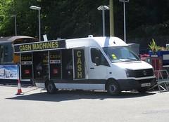 Mobile Cash Dispensor Van (occama) Tags: mobile cash dispensor van atm money bank car park cornwall uk may 2019