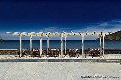 life is blue... (dimitra_milaiou) Tags: greece blue sky sea seaside offshore clouds hellas andros walking life live love holidays vacations visit perspective seascape landscape nikon d 7100 d7100 light white chairs restaurant eating sun sunlight swimming milaiou dimitra europe line architecture horizon peace serene calm travel tourism tourist shadows shadow magic ανδροσ island cyclades cycladic