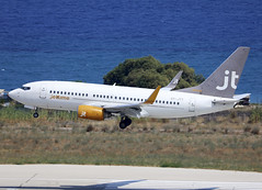 OY-JTY (QC PHOTOGRAPHY) Tags: rhodes diagoras greece july 27th 2018 jet time b737700wl oyjty